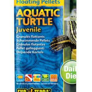 Aquatic Turtle Food, DRIJVENDE KORRELS VOOR JONGE WATERSCHILDPADDEN 90GR