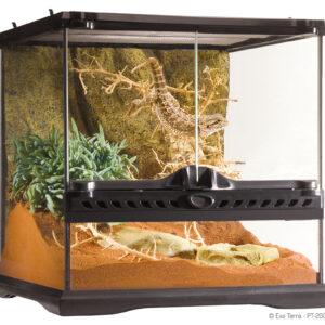 "Natural Terrarium Mini, GEAVANCEERD REPTIELENVERBLIJF Mini/Wide - 30 x 30 x 30 cm - 12"" x 12"" x 12"""